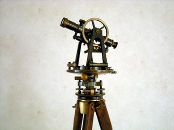 The Instrument on its original tripod.