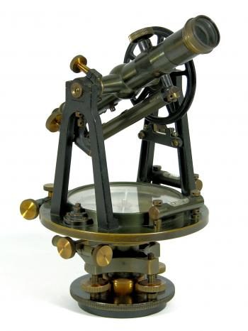 The 1919 Keuffel & Esser Preliminary Survey Transit No. 5129N.