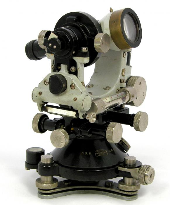 1924 Carl Zeiss Th1 Theodolite - the homepage of Nicolàs de