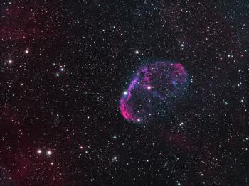 The Crescent Nebula (NGC6888).
