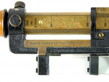 "The indication ""Range Finder Cotton Type Mk II""."