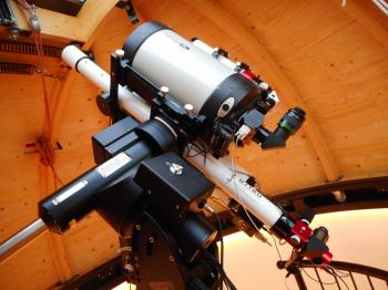 The GTT60 is the longest scope on the rig.
