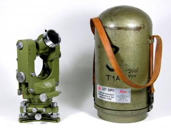 The Wild Heerbrugg T1A automatic theodolite.