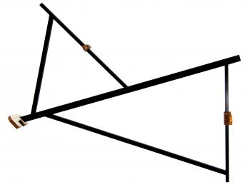 The hoekboog (double triangle) reconstruction.