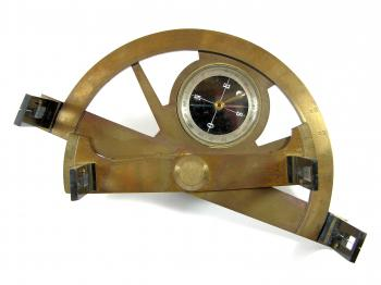 A late 19th century graphometer